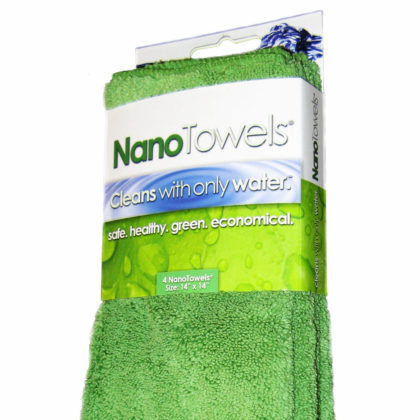 Nano Towels 14×14″ 4-Pack (Original Nano Green)
