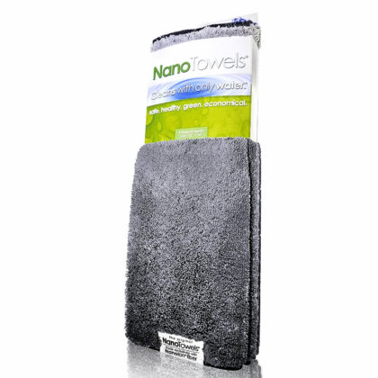 Nano Towels 14×14″ 4-Pack (Nano Grey)