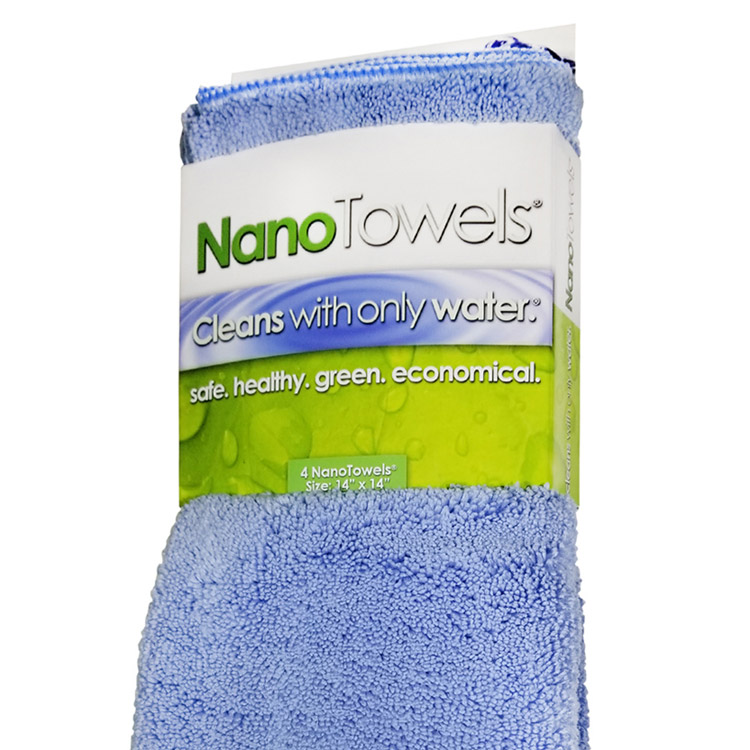 Nano Towels 14x14 Blue Cleaning Towels