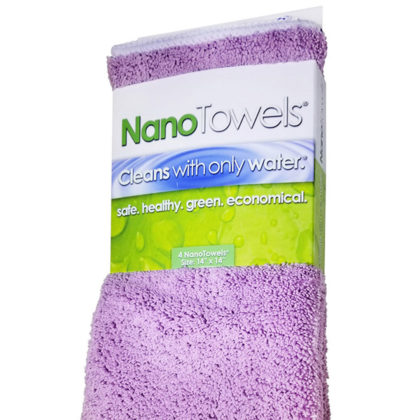 Nano Towels 14×14″ 4-Pack (Lavender)