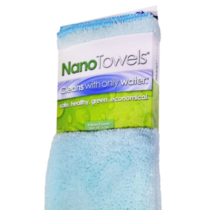 Nano Towels 14×14″ 4-Pack (Seashore Teal)