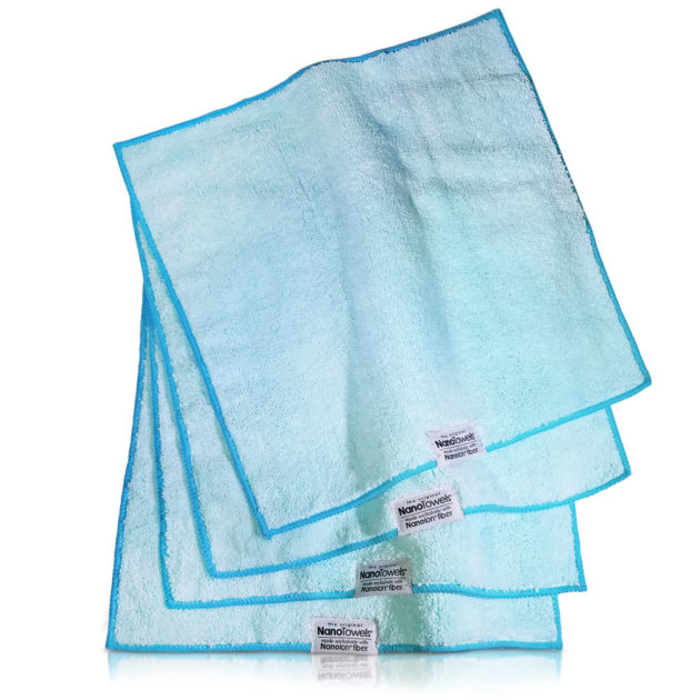 "Nano-Towels-14x14"" 4-pack Seashore Teal"