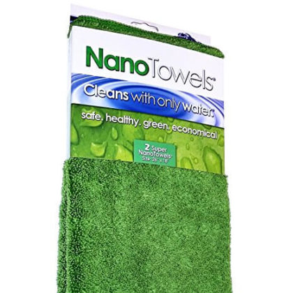 Nano Towels SUPERSIZED 26×18″ 2-Pack (Original Nano Green)