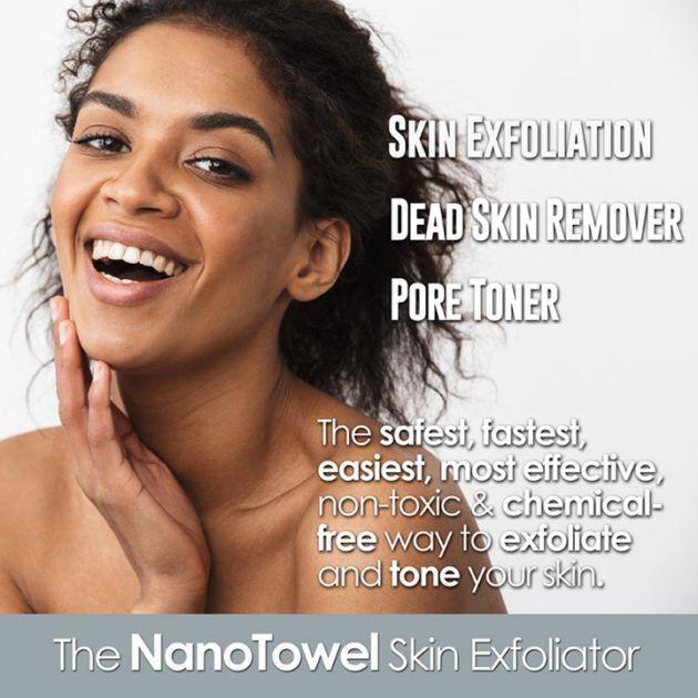 Nano Towels Skin Exfoliator