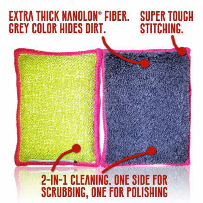 Nano Sponge Cleaning Sponges – Regular Size