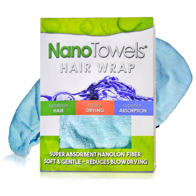 Nano Towel Hair Drying Wrap Twisty Towel