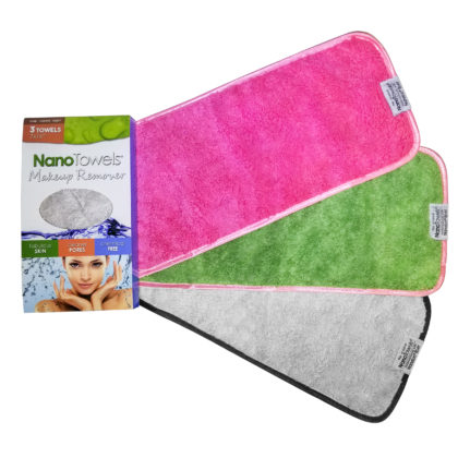 Makeup Remover Face Cloth 3-Color Pack